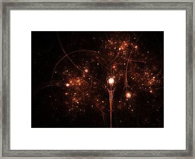 Lightyears Away Framed Print by Steve K