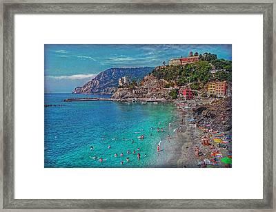 Liguria Framed Print by Hanny Heim