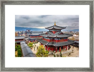Lijiang, Yunnan, China Framed Print by Kiszon Pascal