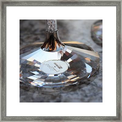 Like A Diamond 2 Framed Print by Penelope Moore