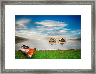 Framed Print featuring the photograph Like A Dream by Okan YILMAZ