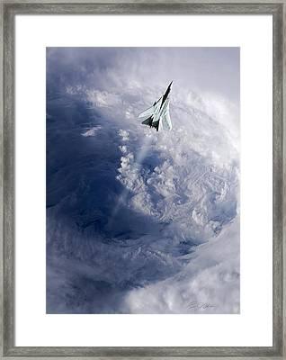 Like A Hurricane Framed Print