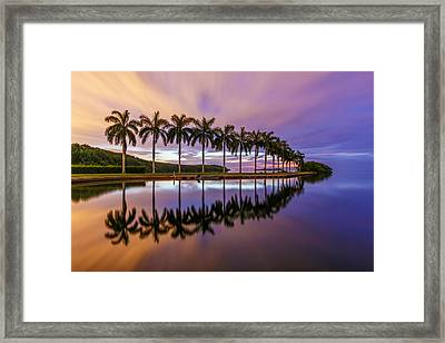Like A Mirror Framed Print by Claudia Domenig