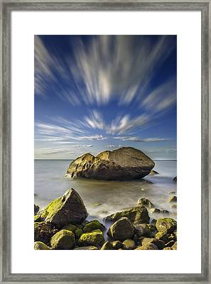 Like A Rock Framed Print by Rick Berk