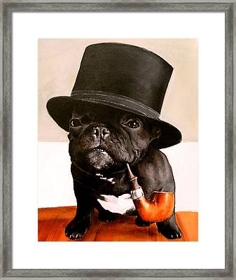 Like A Sir Framed Print by Marina Joy