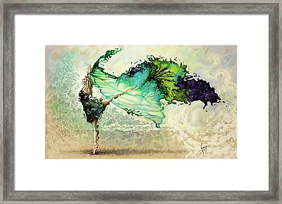 Like Air I Will Raise Framed Print by Karina Llergo