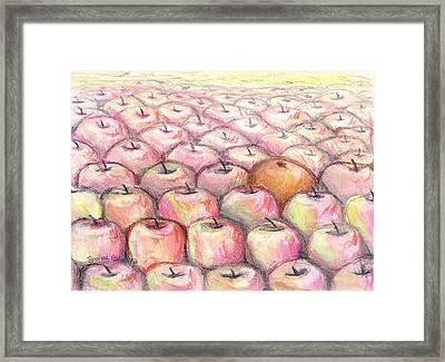 Like Apples And Oranges Framed Print by Shana Rowe Jackson