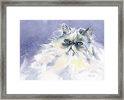 Like Cotton Candy Framed Print