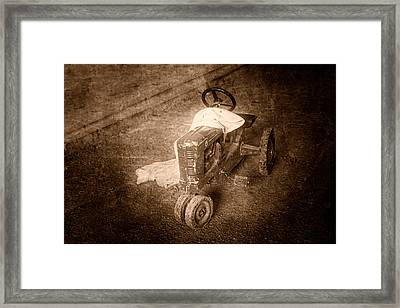 Like Father Like Son Framed Print by Tom Mc Nemar