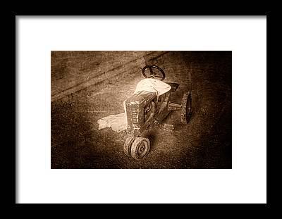 Pedal Car Framed Prints