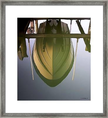 Like Glass Framed Print by Brian Wallace