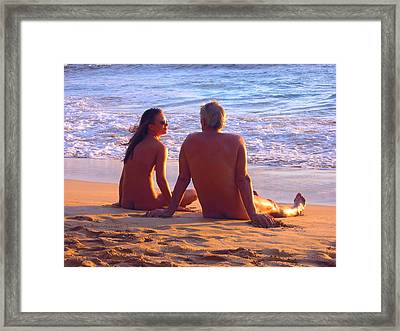 Like In Paradise Framed Print by Andreas Thust