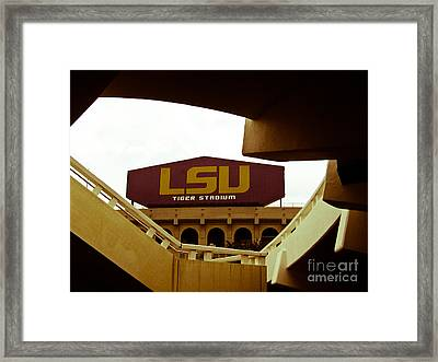 Like Knights Of Old Framed Print by Craig Pearson