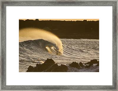 Like Lava Framed Print by Brad Scott
