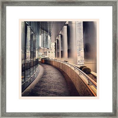 #like #like4like #tflers #liker #likes Framed Print by Mike Maher