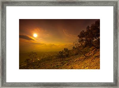 Like Martian View Framed Print