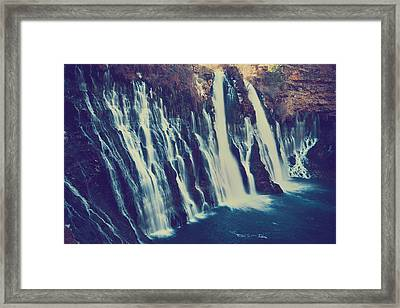 Like My Pounding Heart Framed Print by Laurie Search