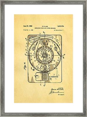 Like Sound And Picture Player 2 Patent Art 1950 Framed Print