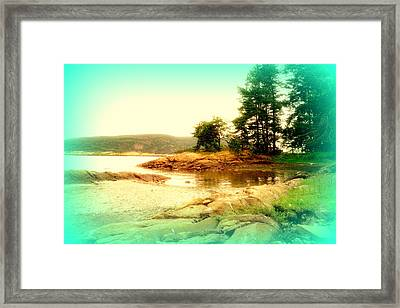 Like The First Morning At My Own Secret Place  Framed Print