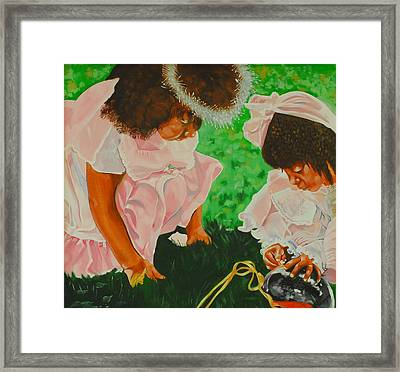 Lil' Angels Framed Print