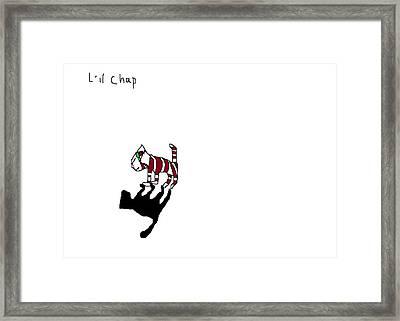 L'il Chap Framed Print