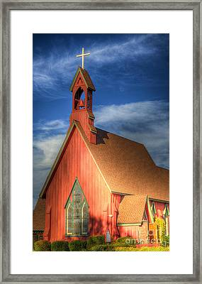 Lil' Church On The Pray're Framed Print