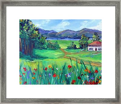 Lil' House Of Mine Framed Print by Dawn Gray Moraga