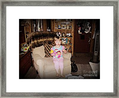 Lil Jojo Framed Print