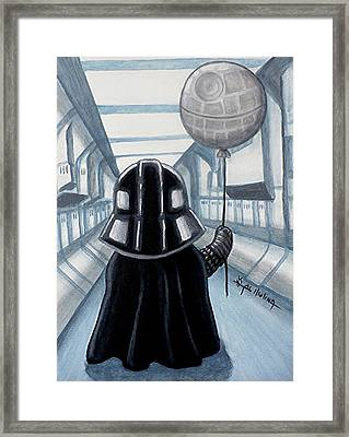 Lil Vader Dreams Big Framed Print
