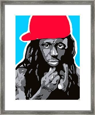 Lil Wayne Framed Print