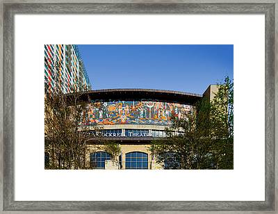 Lila Cockrell Theatre - San Antonio Framed Print by Christine Till