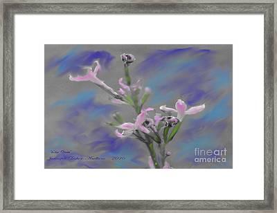 Lilac Dream Framed Print by Jennifer Lesher - Arellano