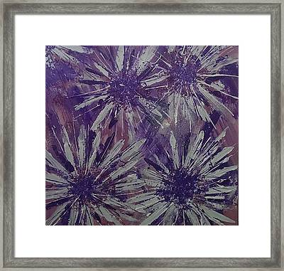 Lilac Garden Framed Print