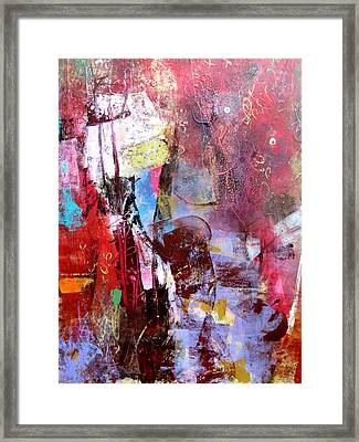 Lilac Haze Framed Print by Katie Black