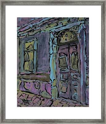 Lilac House  Framed Print