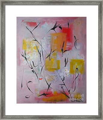 Lilac Framed Print by Jacqueline Howett