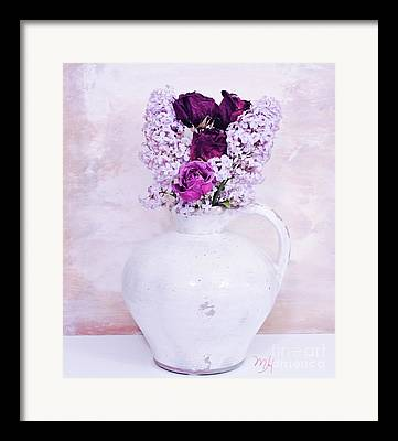 Pottery Pitcher Digital Art Framed Prints