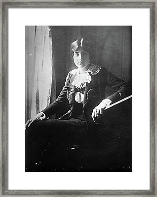 Lili Boulanger (1893-1918) Framed Print by Granger