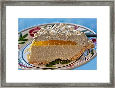 Lilikoi Cheese Pie Framed Print by Dan McManus