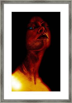 Lilith Framed Print by Penny Collins