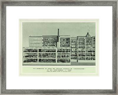 L'illustration  Cross-section Framed Print by Mary Evans Picture Library