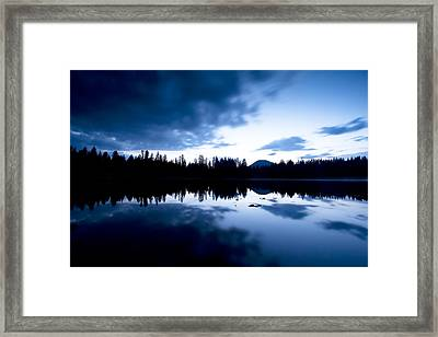 Lilly Lake Framed Print