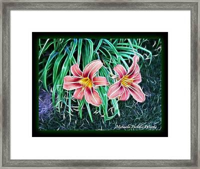 Lilly Framed Print