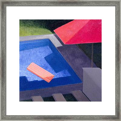 Lilo, 2004 Acrylic On Canvas Framed Print by Lincoln Seligman