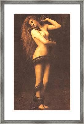 Lilth Framed Print by John Collier