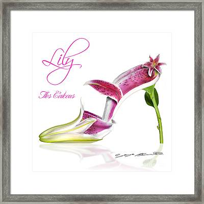 Lily Flos Calceus Framed Print