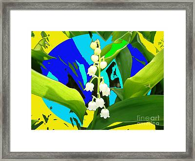 Lily Of The Valley By M.l.d.moerings 2008 Framed Print by Marion Moerings