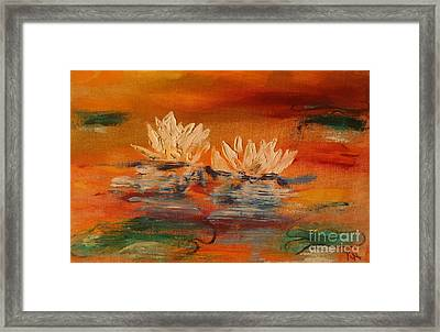 Lily Pad Framed Print by PainterArtist FIN