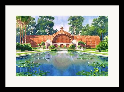 Exhibition Paintings Framed Prints