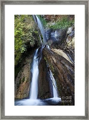 Limekiln Waterfall Framed Print by Jenna Szerlag